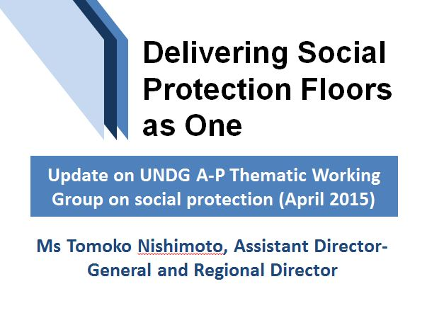 Workspace   The Social Protection Floor Initiative (SPF-I)